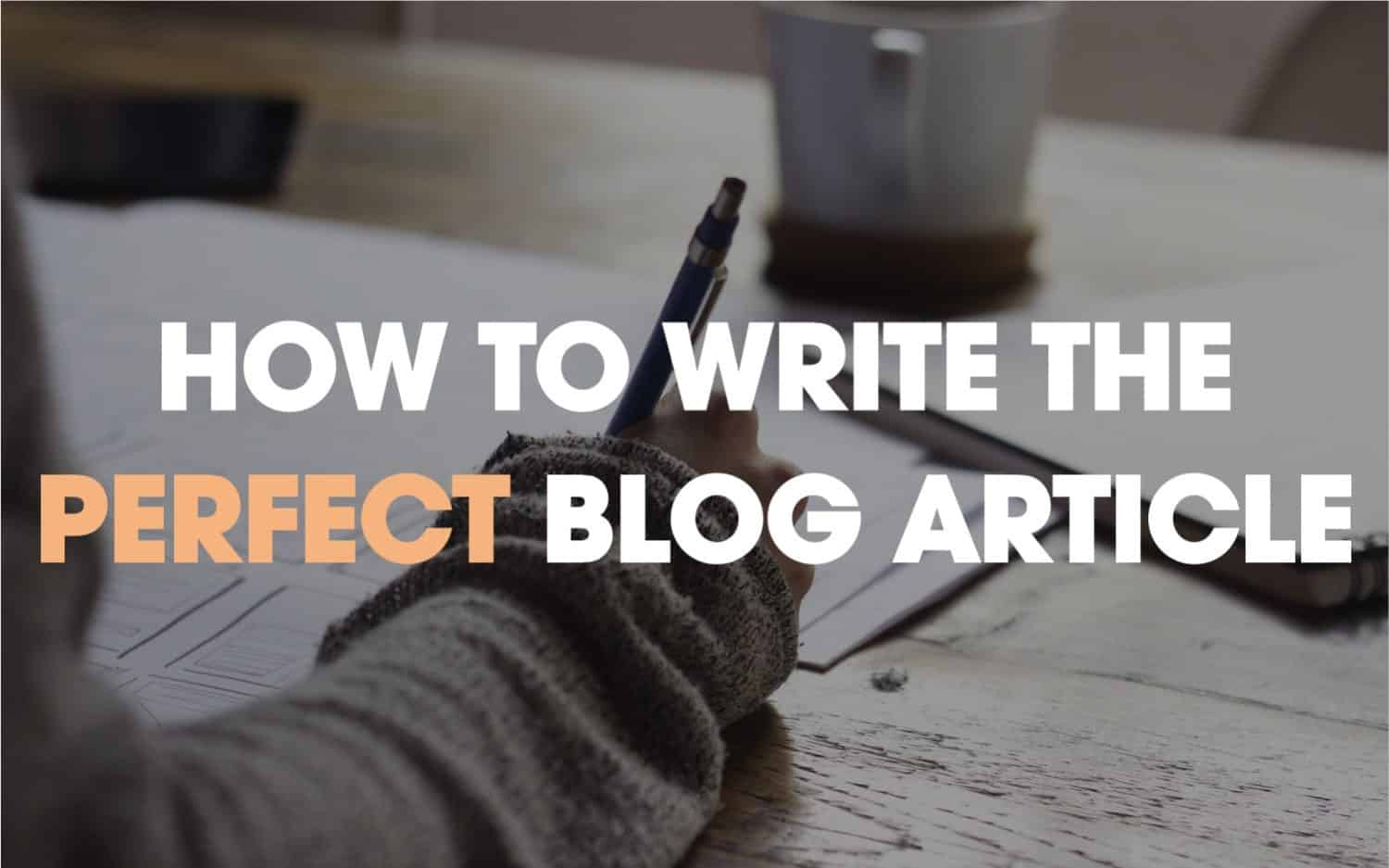 how to compose an article