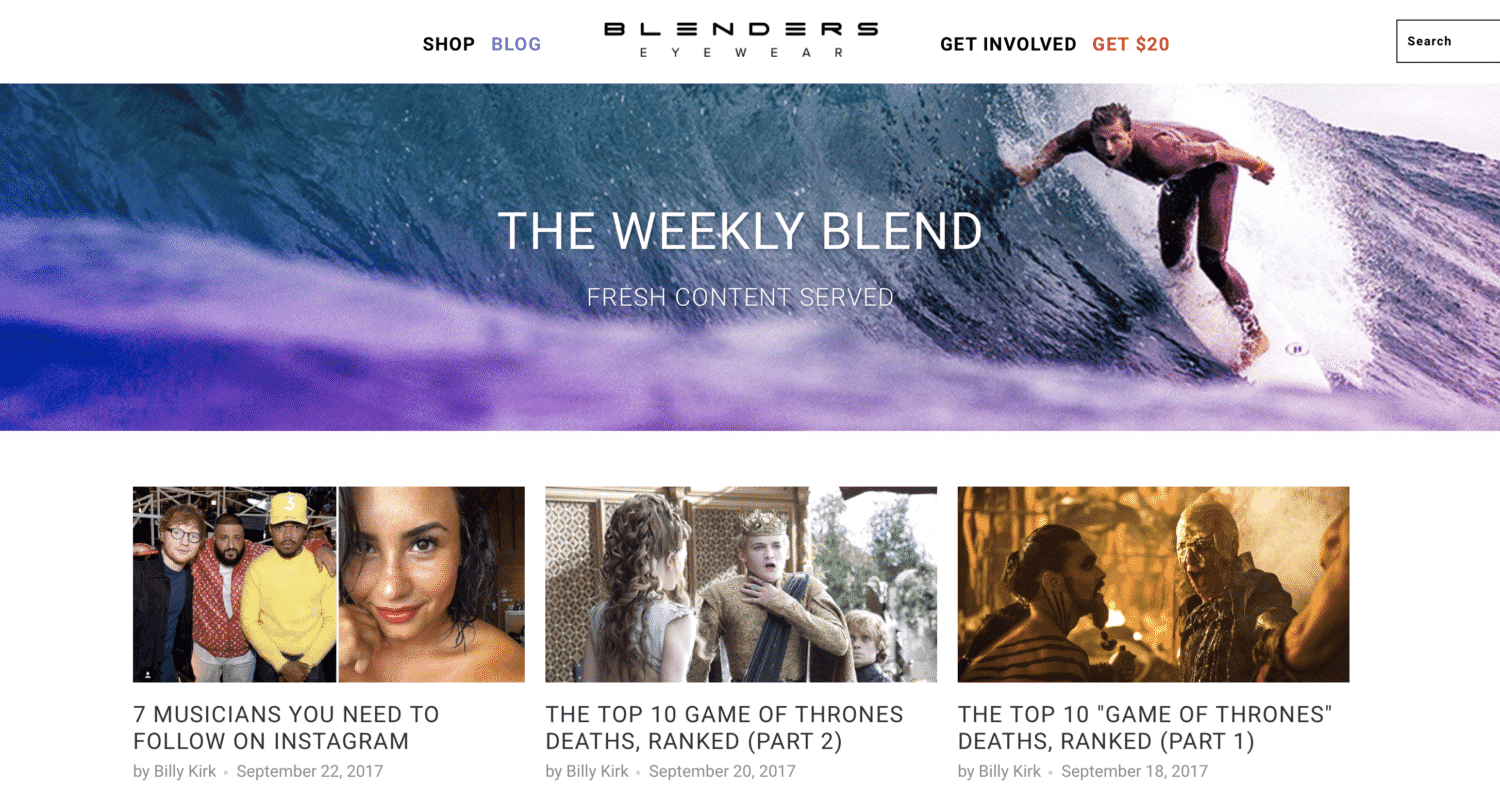 Blenders Eyewear Branded Their Business Blog