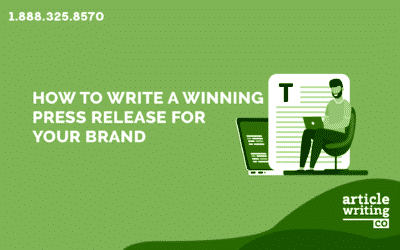 How To Write A Press Release For Your Brand